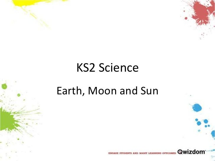 KS2 ScienceEarth, Moon and Sun