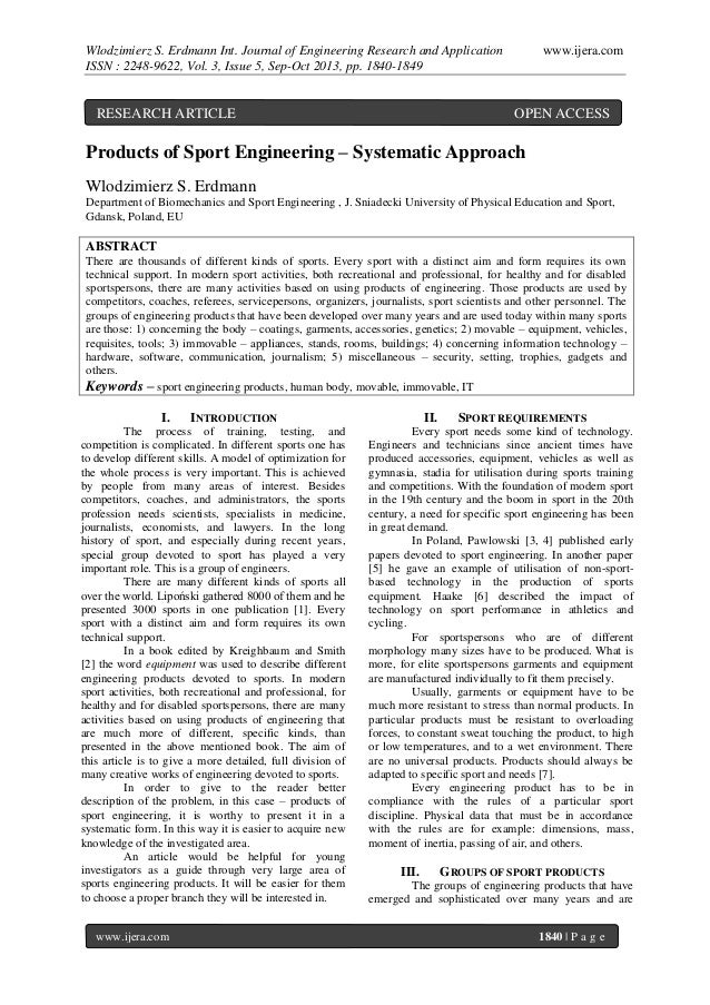 Wlodzimierz S. Erdmann Int. Journal of Engineering Research and Application ISSN : 2248-9622, Vol. 3, Issue 5, Sep-Oct 201...