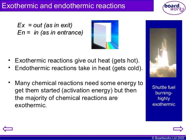an analysis on exothermic and endothermic reactions Learn about endothermic and exothermic chemical reactions and get instructions to perform your own hot and cold chemistry experiments.