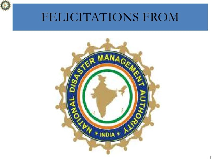 FELICITATIONS FROM<br />1<br />