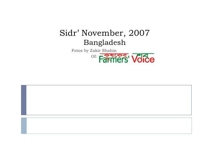 Sidr' November, 2007Bangladesh<br />Fotos by ZakirShahin<br />Of: <br />