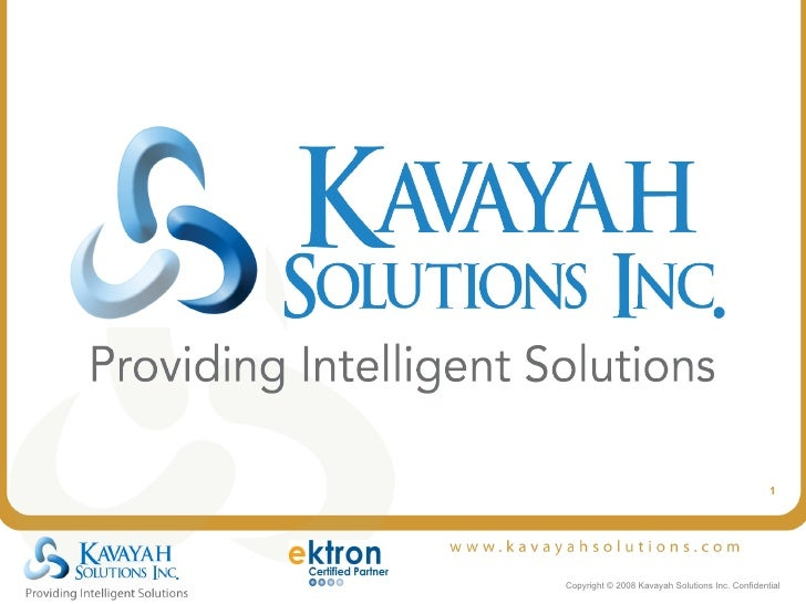 Kavayah Solutions - Introduction