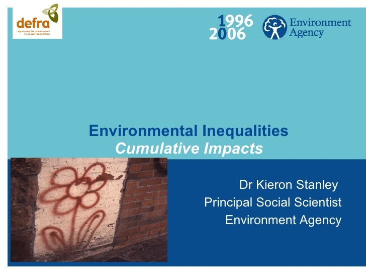 Kieron Stanley (Environment Agency) Mapping For Sustainable Communities 170608