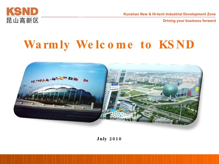Warmly Welcome to KSND July 2010