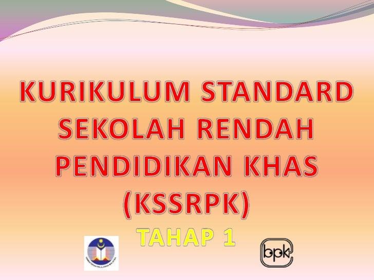 Akta Pendidikan 1996, Peraturan-peraturan       Pendidikan (Pendidikan Khas) 1997 Bahagian II 3(2) yang menyatakan:       ...