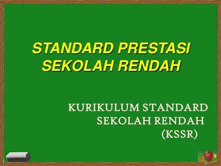 KSSR & Std Prest - SESI 1