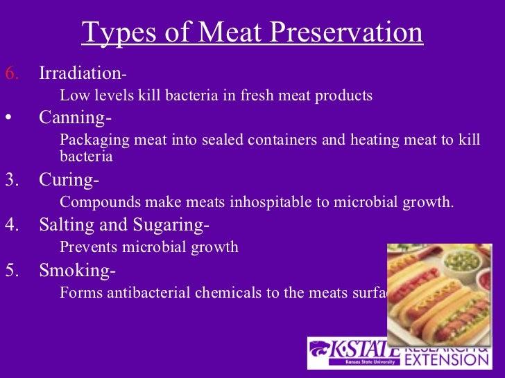 food preservation methods used prior to modern refrigeration