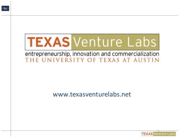 www.texasventurelabs.net 1