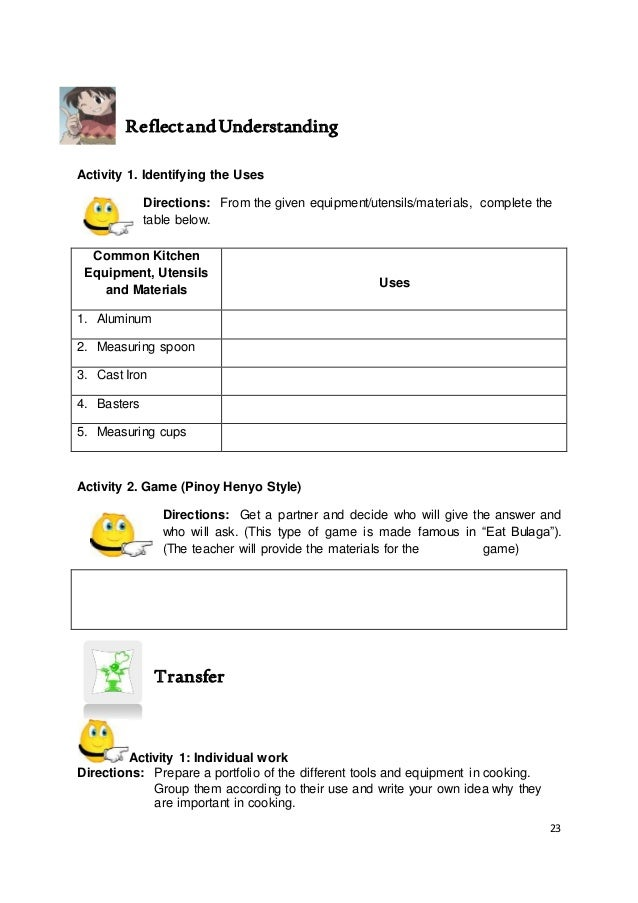Kto12 tle home economics lm-commercial cooking