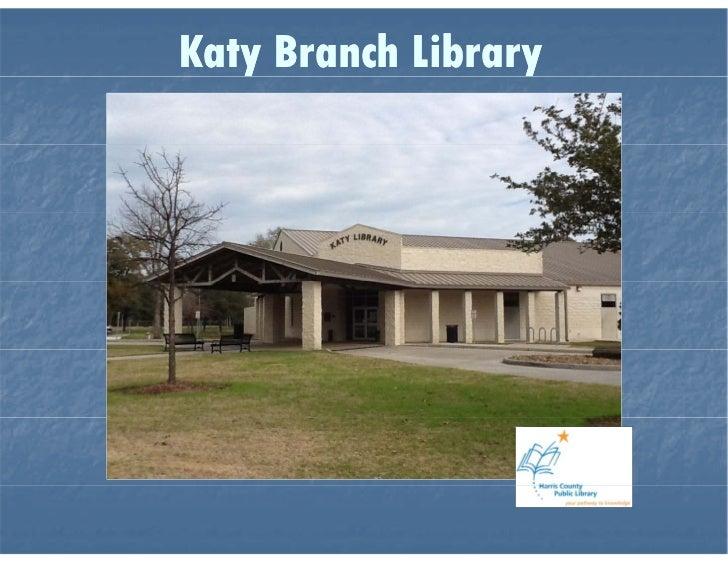 Katy Branch Library Virtual Tour