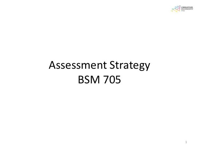 MACE 2012 Assignment Strategy