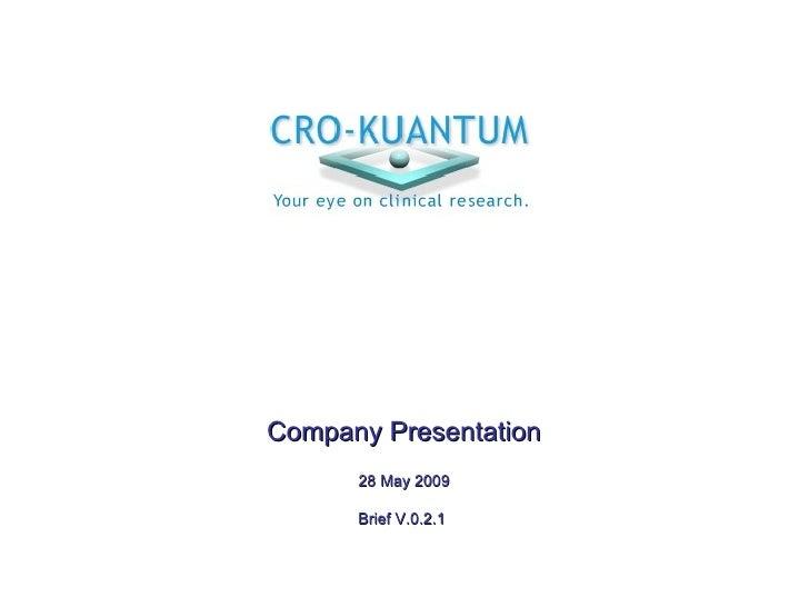 Kuantum Cro St V021