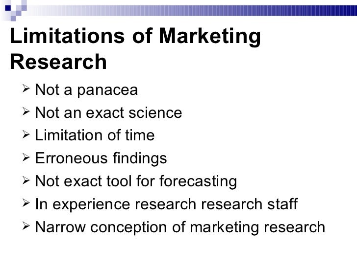 market research thesis