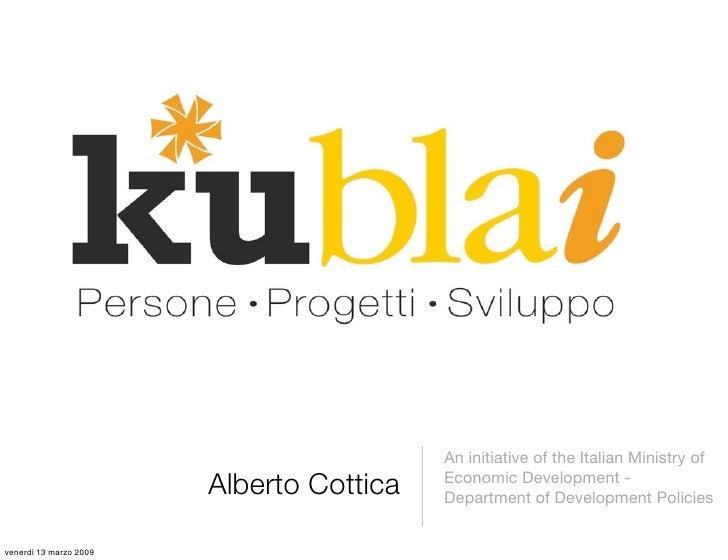An initiative of the Italian Ministry of                         Alberto Cottica   Economic Development -                 ...