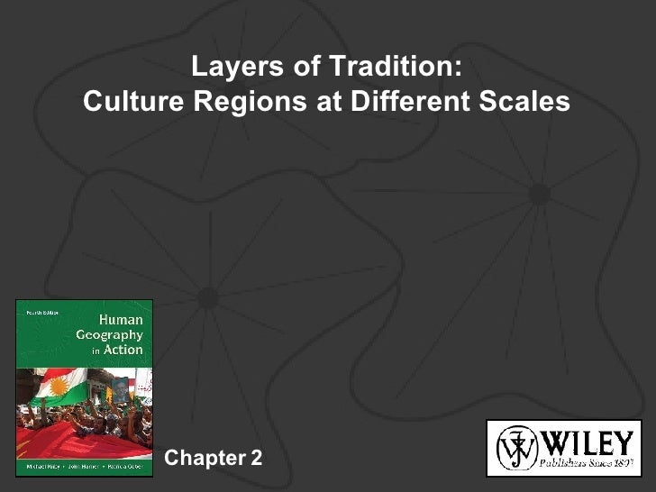 Kuby Chapter 2: Layers of Tradition: Culture Regions at Different Scales