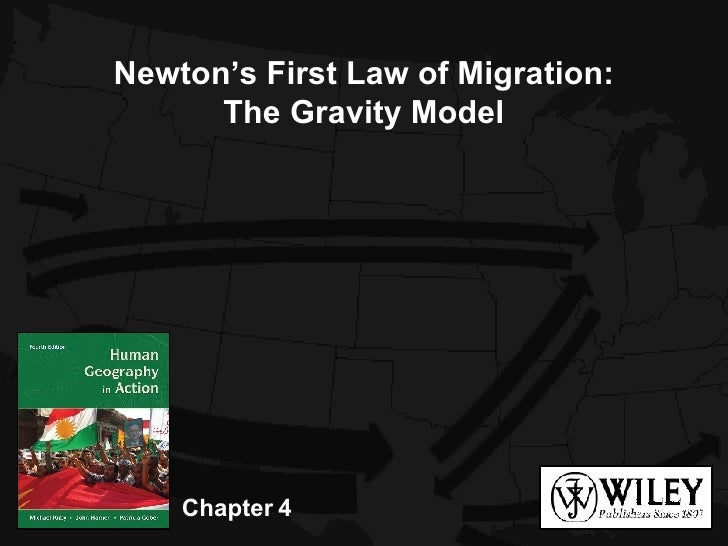 Chapter 4 Newton's First Law of Migration: The Gravity Model