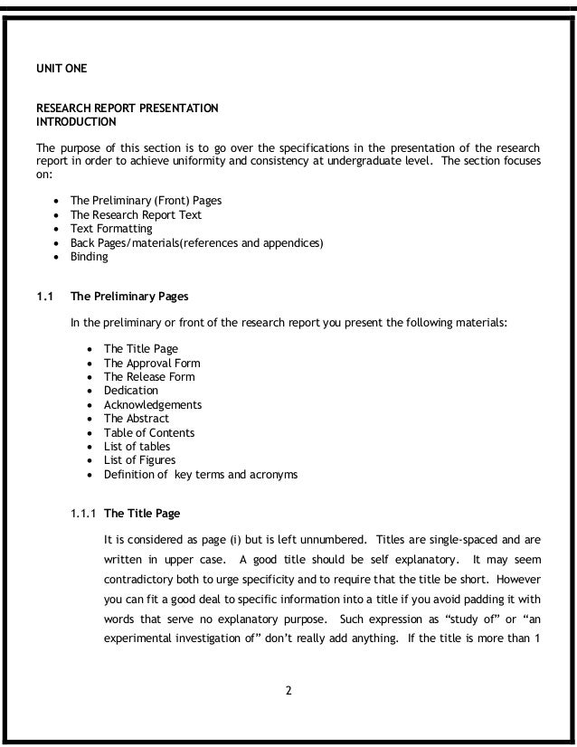 Management thesis report