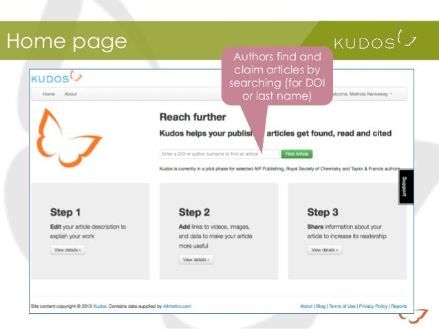 Kudos: How it Works