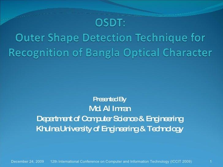 Bangla OCR