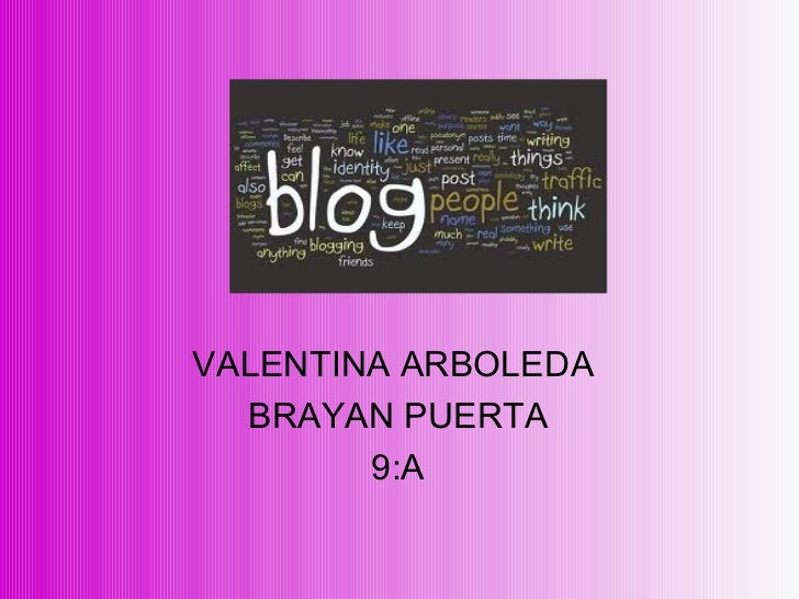 VALENTINA ARBOLEDA  BRAYAN PUERTA 9:A