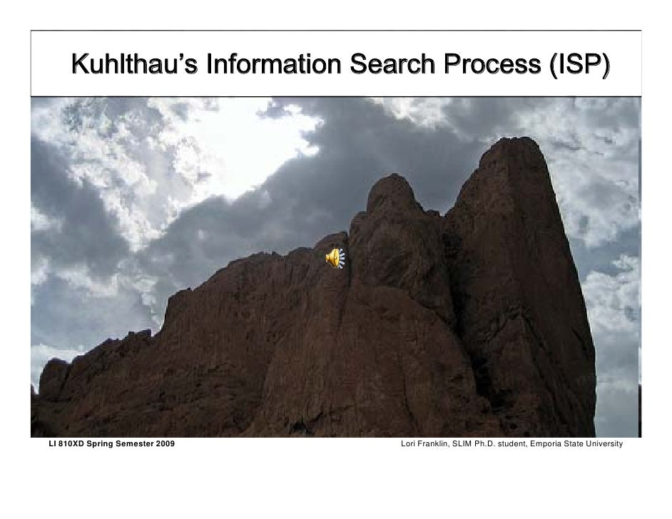 Kuhlthau's ISP PowerPoint in PDF format