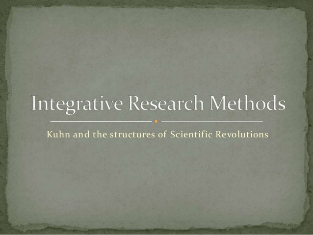 Kuhn and the structures of Scientific Revolutions