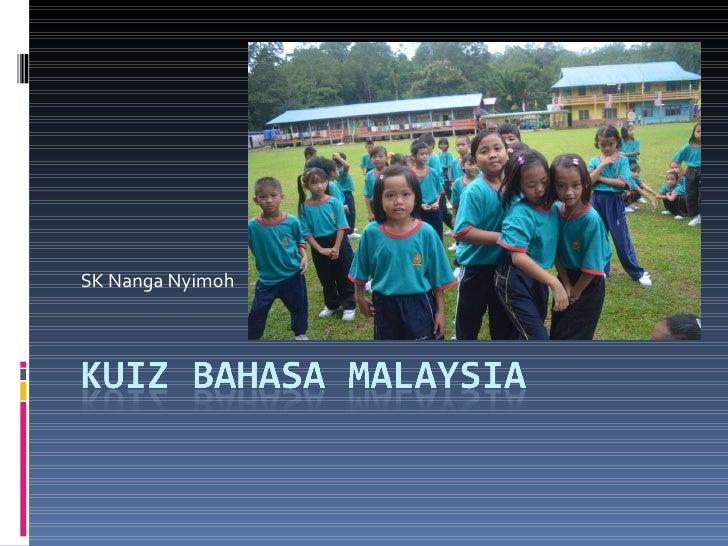 Kuiz bahasa malaysia