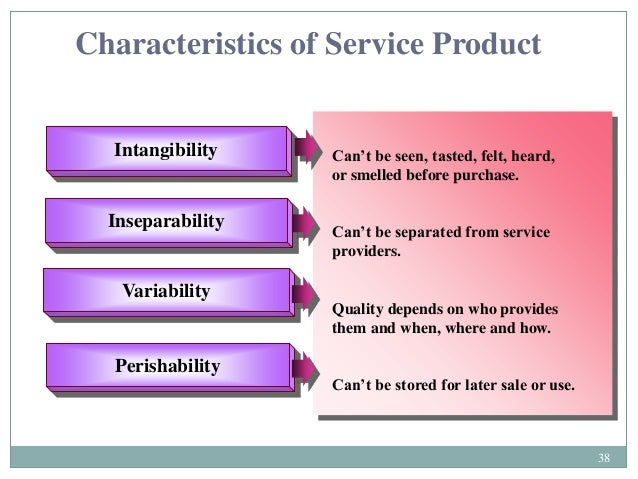 the product and service attributes marketing essay Can better understand product attributes and the benefits customers feel are most important  international services marketing the global communications channel of .