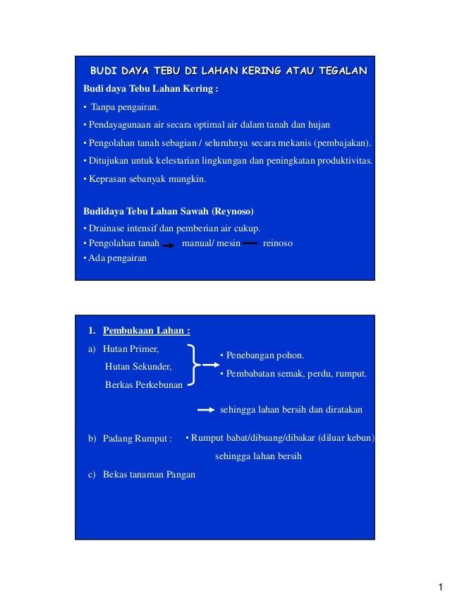 UBKPU BUDIDAYA TEBU 2012-Kuliah 4 2012