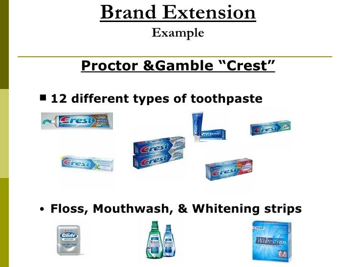 Brand Extension Example