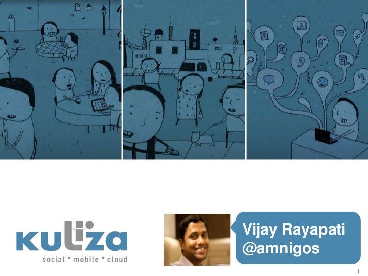 Vijay Rayapati@amnigos                 1