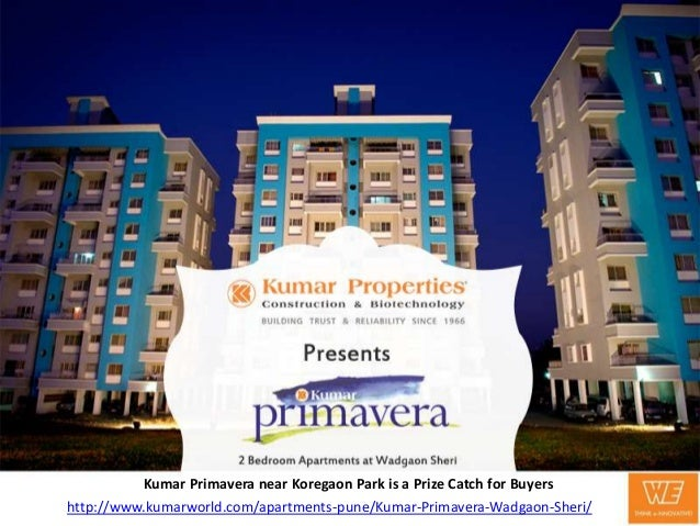 Kumar Primavera near Koregaon Park is a Prize Catch for Buyers