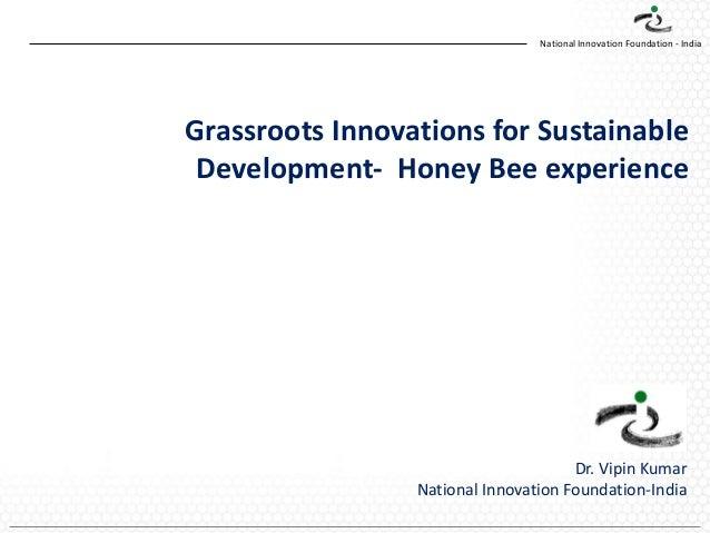 ANIS2013_Social Innovation Led by Technology_Vipin kumar