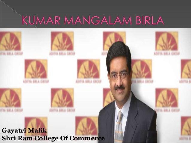 Gayatri Malik Shri Ram College Of Commerce