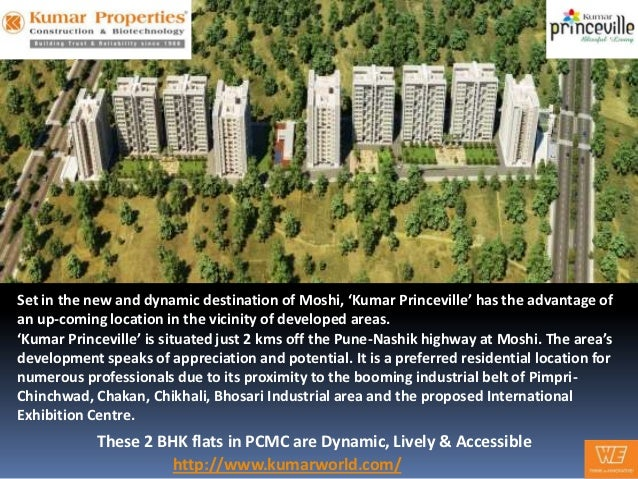 Kumar Princeville - These 2 BHK flats in PCMC are Dynamic, Lively & Accessible