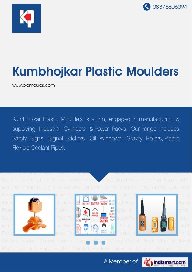 Cable Carrier Assembly by Kumbhojkar plastic-moulders