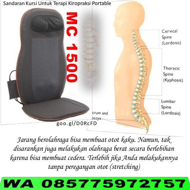 MC1500 Sandaran Kursi Untuk Terapi Kiropraksi Portable goo.gl/D0RcFD Jarang berolahraga bisa membuat otot kaku. Namun, tak...