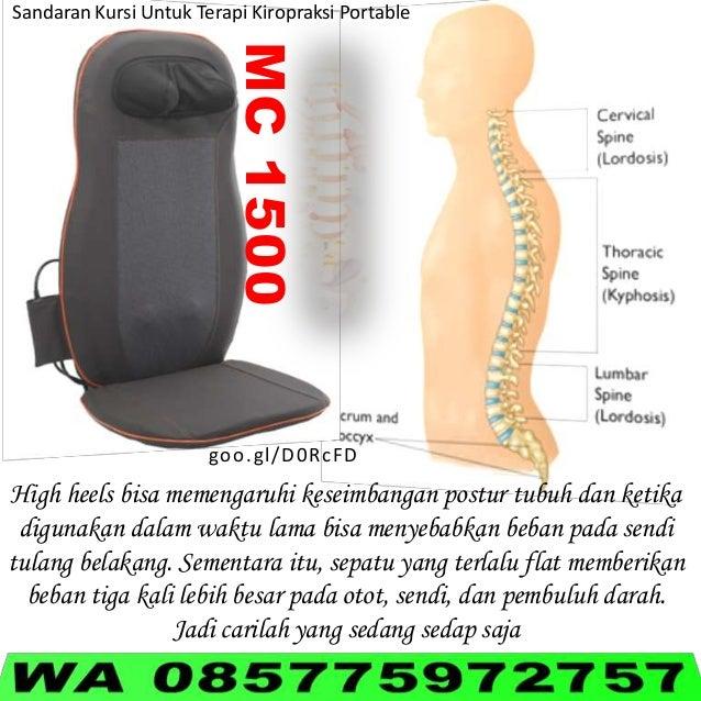 MC1500 Sandaran Kursi Untuk Terapi Kiropraksi Portable goo.gl/D0RcFD High heels bisa memengaruhi keseimbangan postur tubuh...
