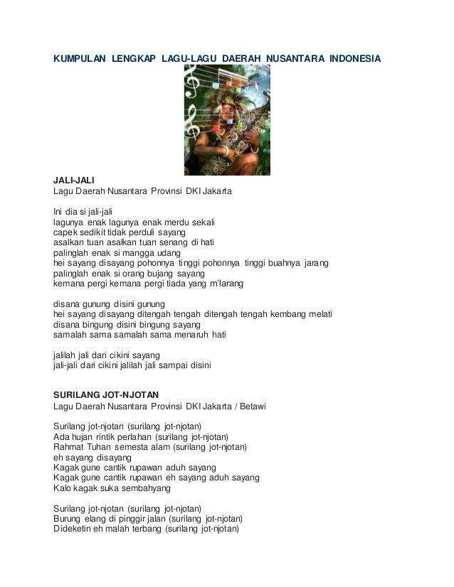 Kumpulan Lirik Lagu Indonesia Terbaru Dan Terpopuler Download Lengkap