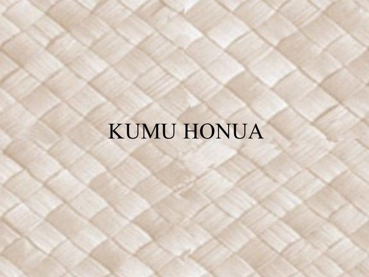 KUMU HONUA
