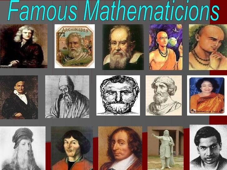 Famous Mathematicions