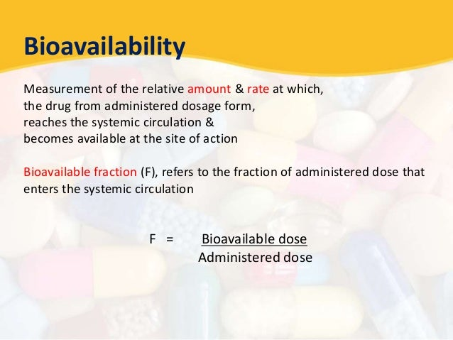 bioavailability and bioequivalence studies Pdf   bioavailability and/or bioequivalence studies play a key role in the drug development period for both new drug products and their generic equivalents for both, these studies are also.