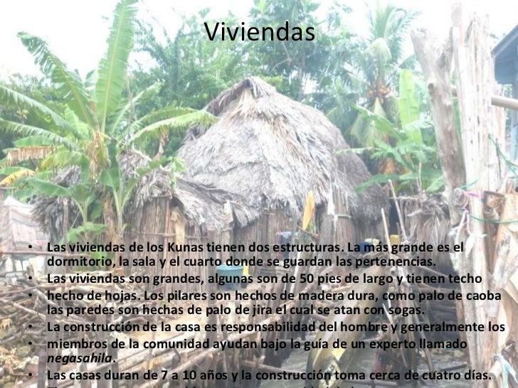 Kuna yala for Tipos de techos para viviendas
