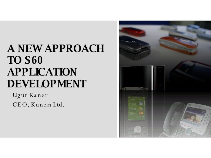 A new approach to S60 application development with Flash Lite