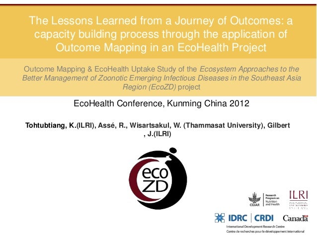 The Lessons Learned from a Journey of Outcomes: a   capacity building process through the application of       Outcome Map...
