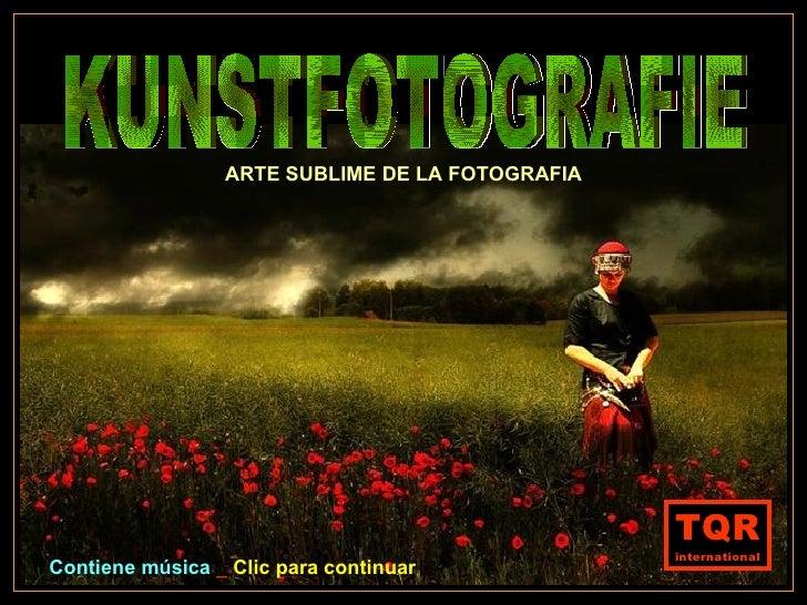 Kunstfotografie.