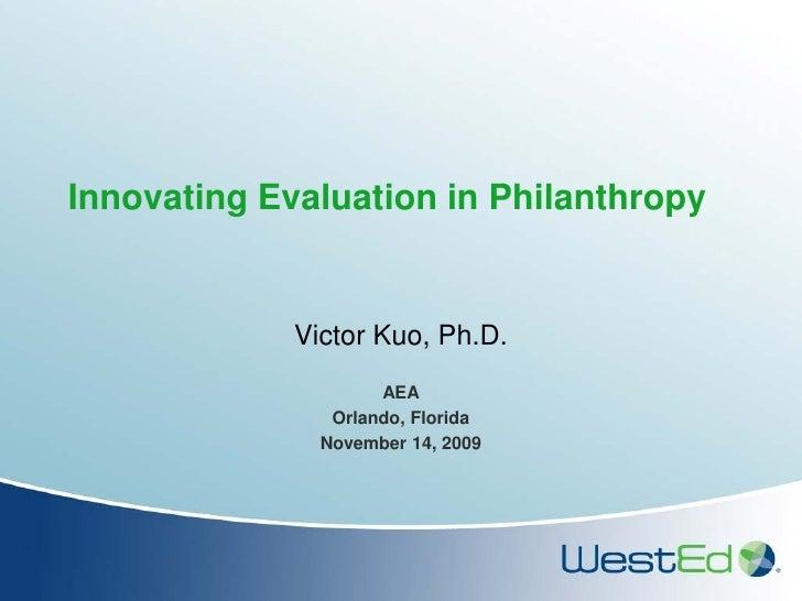 AEA 2009 Kuo Innovating Eval draft 111009b