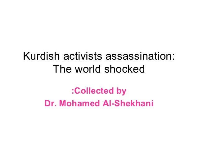 Kurdish activists assassination