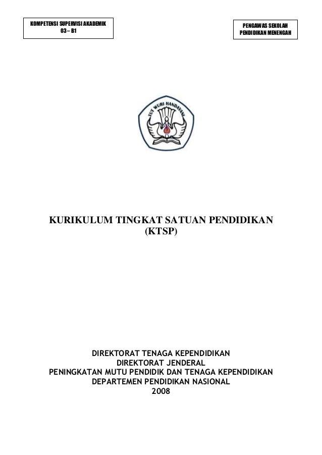 Kurikulum KTSP