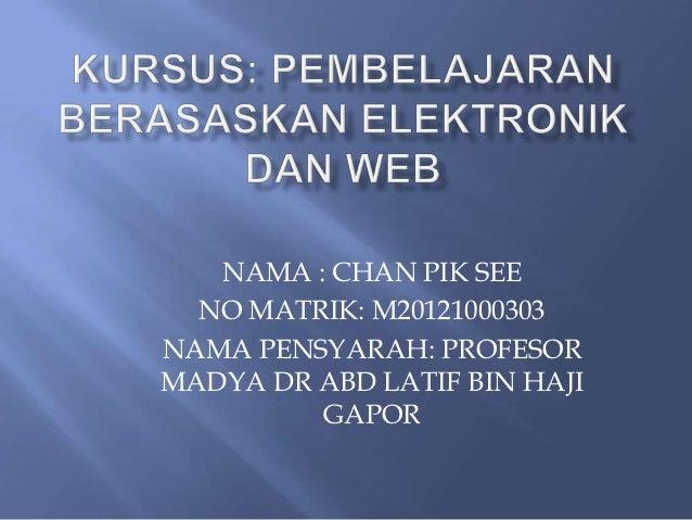 Kursus powerpoint web